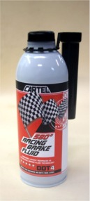 cartel 580 dry boiling point brake fluid in recyclable container