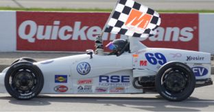 Chuck McCormick formula vee runs red line synthetic lubricants