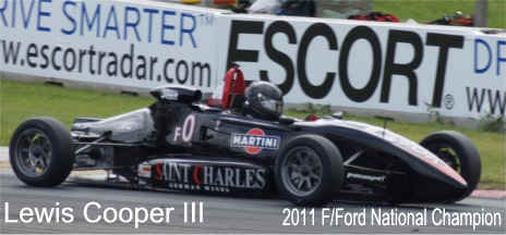 scca 2011 national ff champion lewis cooper on pansport ml forged aluminum wheels