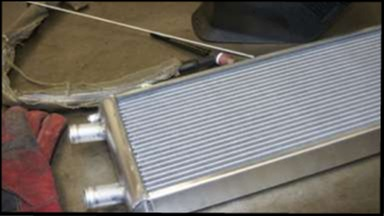 standard size and custom aluminum radiators racing cooling systems